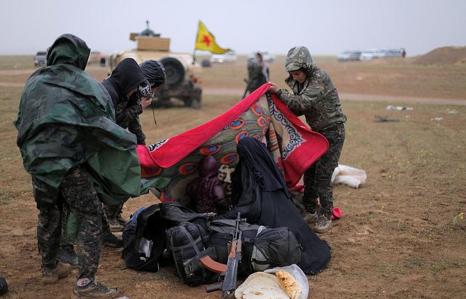 آخرین پناهگاه داعش در باغوز