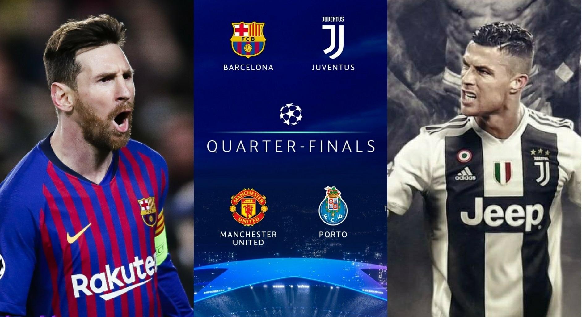 قرعهکشی مرحله یک چهارم نهایی لیگ قهرمانان اروپا و مسابقات رویایی تا فینال متروپولیتانو