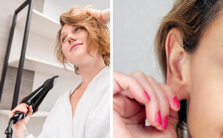 گرفتگی گوش ها را با 10 روش خانگی باز کنید
