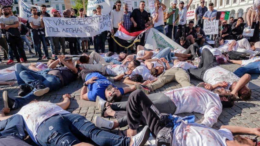سراب پناهندگی در اروپا و اقیانوسیه و آواز دهل شنیدن «بعضیها»