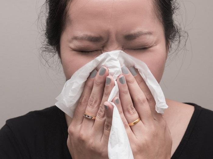 نشانه های آلرژی