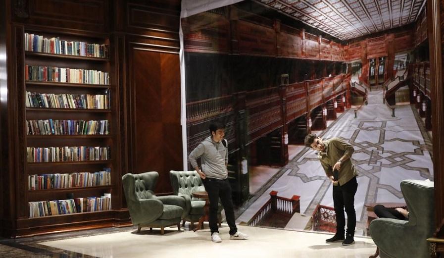 کتابخانه ایران مال ، پاتوق جدید کاربران اینستاگرام برای عکسهای روشنفکرانه!