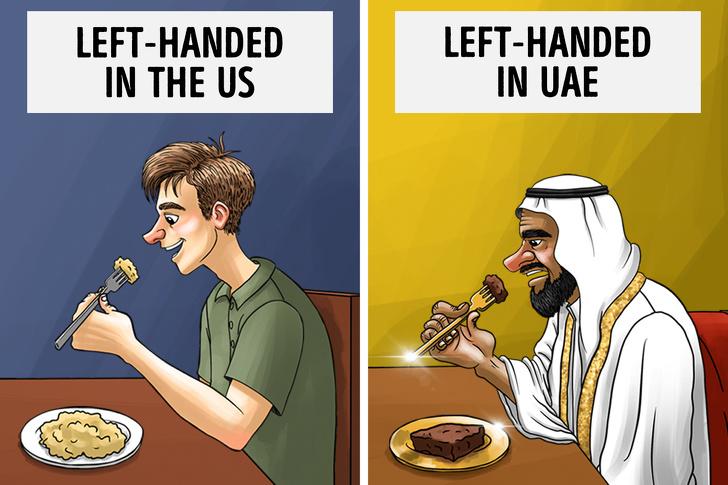 رسمهای بسیار عجیب برخی از کشورها که باورشان سخت است