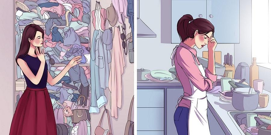 تمیزی یا آشفتگی خانه تان نکات زیادی را در مورد شخصیت شما آشکار می کند