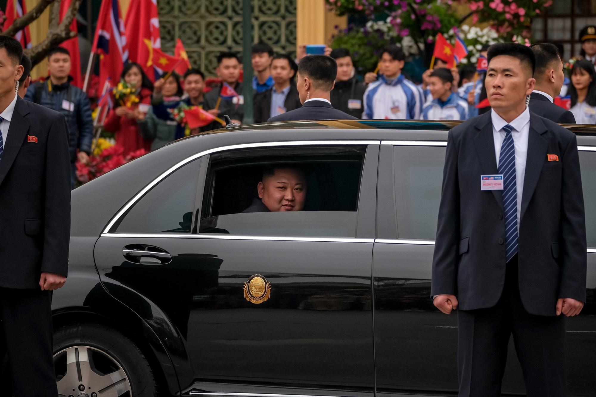لیموزین مرسدس بنز رهبر کره شمالی