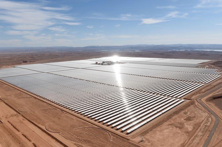 نیروگاه خورشیدی محمد بن راشد آل مکتوم دبی
