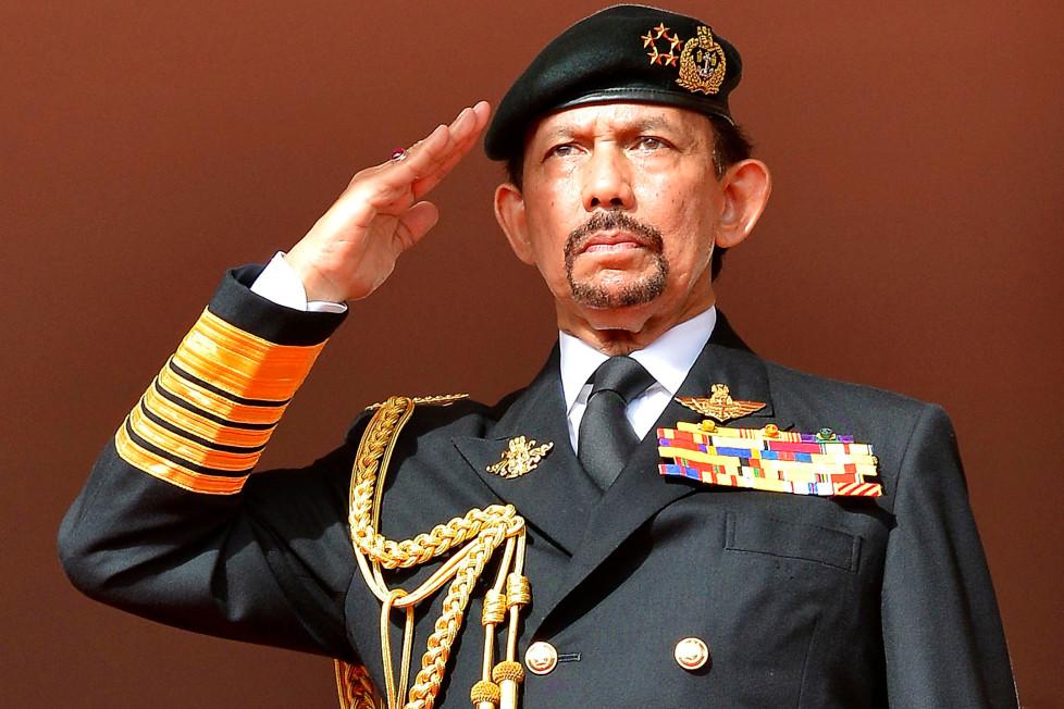 حسن البلقیه، سلطان برونئی