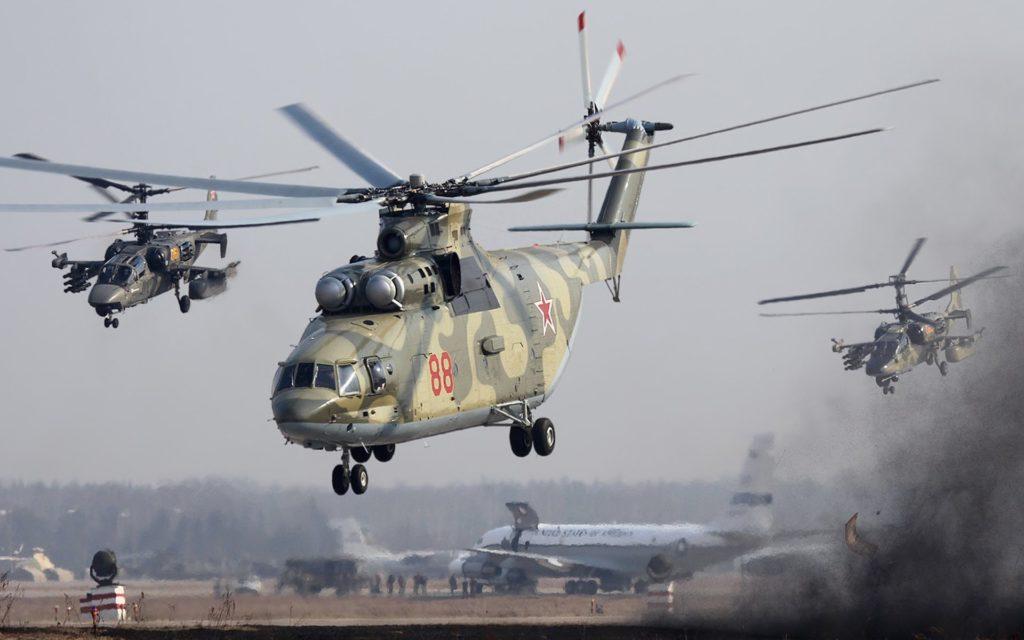 هلیکوپتر روسی Mi-26