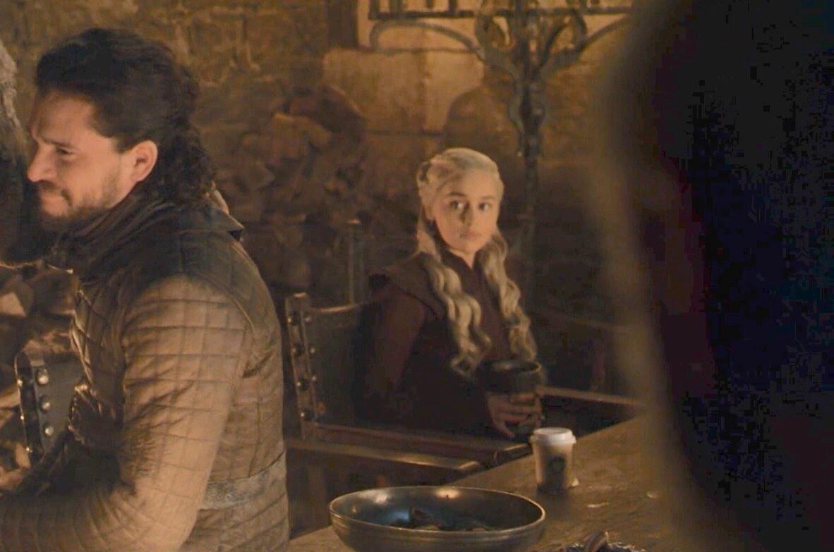 گاف لیوان قهوه در بازی تاج و تخت