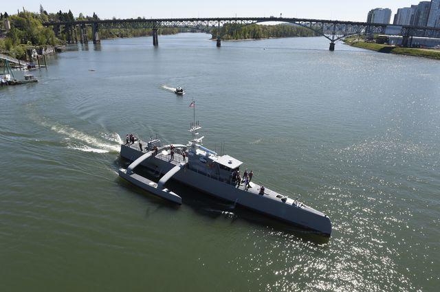 کشتی رباتیک و بدون سرنشین