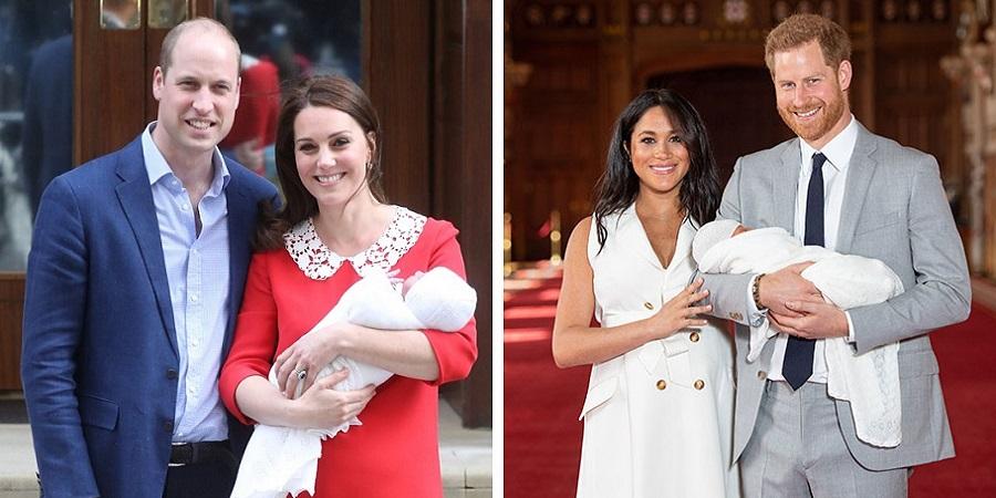 اسم و عکس فرزند مگان مارکل و پرنس هری منتشر شد؛ ۵ تفاوت فرزند مگان مارکل با فرزندان کیت میدلتون
