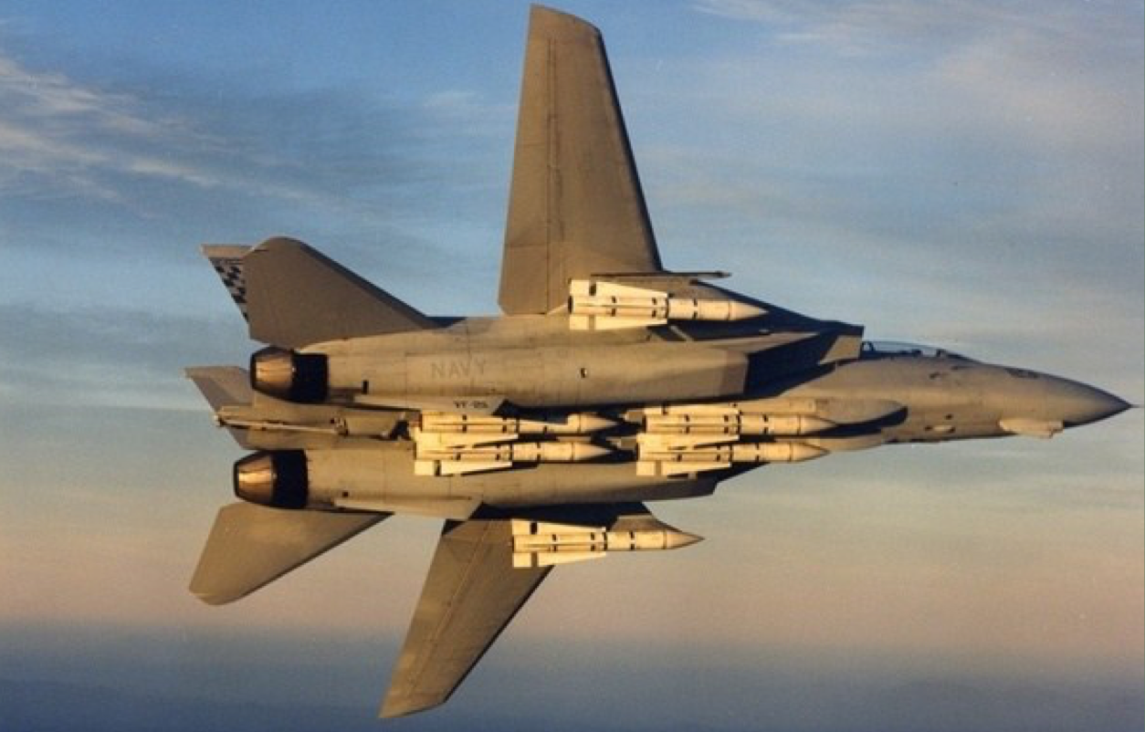جنگنده اف-14 تامکت (F-14 Tomcat