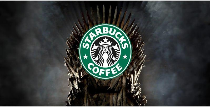 لیوان قهوه استارباکس، گاف بزرگ در اپیزود چهارم فصل هشتم «بازی تاج و تخت»