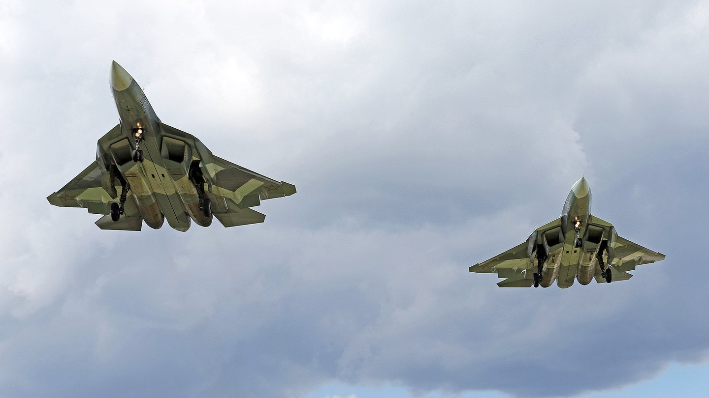 جنگنده سوخو- 57 روسیه