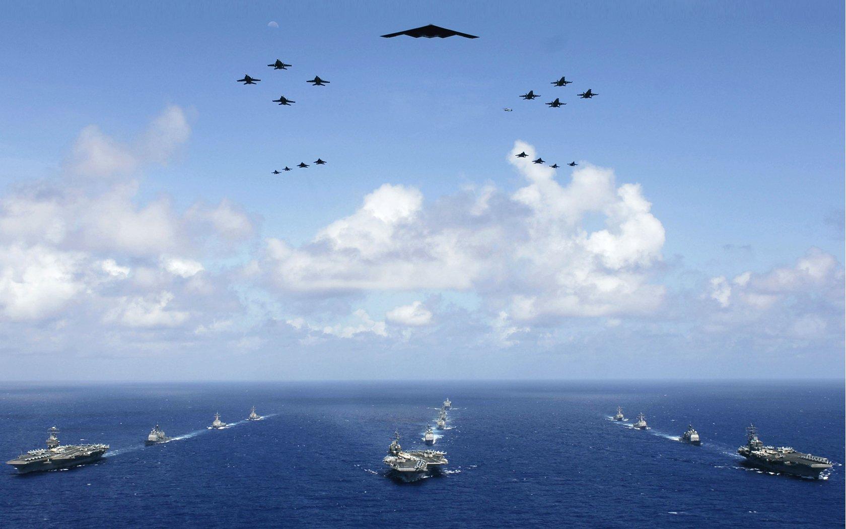 ایالات متحده و چین؛ قوی ترین نیروهای دریایی جهان از لحاظ کیفیت و کمیت