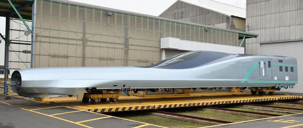 آزمایش سریع ترین «قطار گلوله ای» جهان در ژاپن با سرعت ۴۰۰ کیلومتر در ساعت