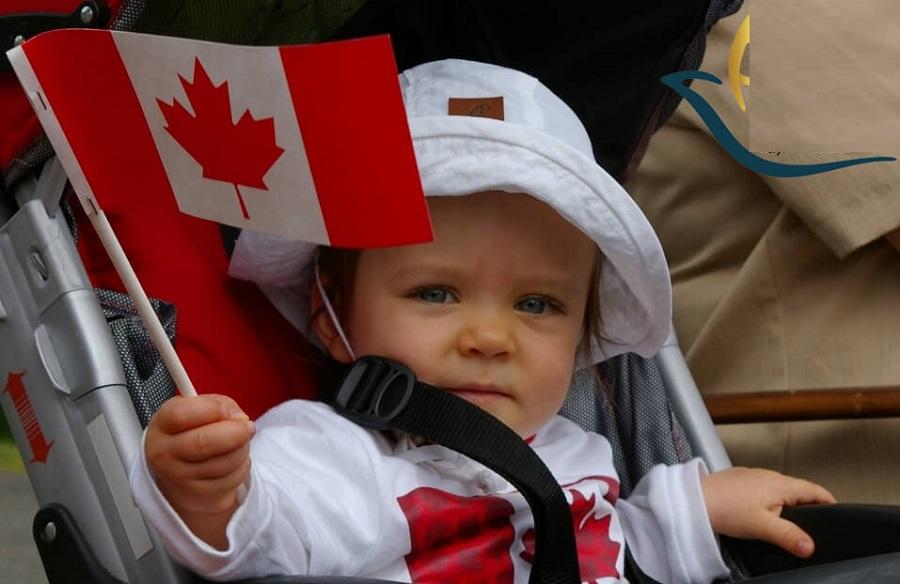 تولد فرزند در کانادا