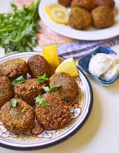 طرز تهیه فلافل لبنانی اصل