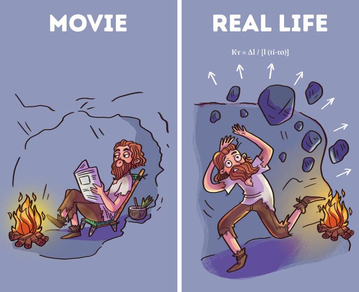 باورهای غلط ناشی از فیلم های سینمایی