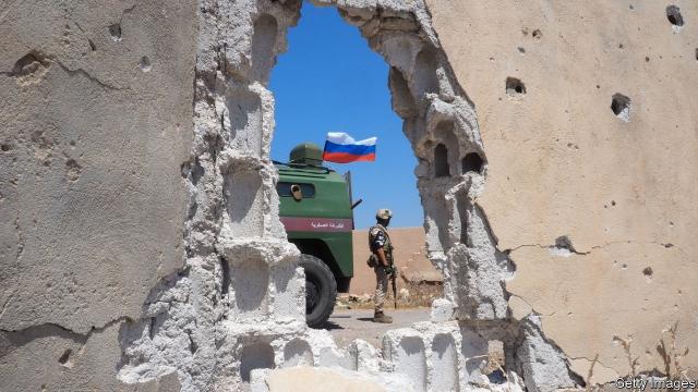 دخالت نظامی روسیه در کشورهای دیگر