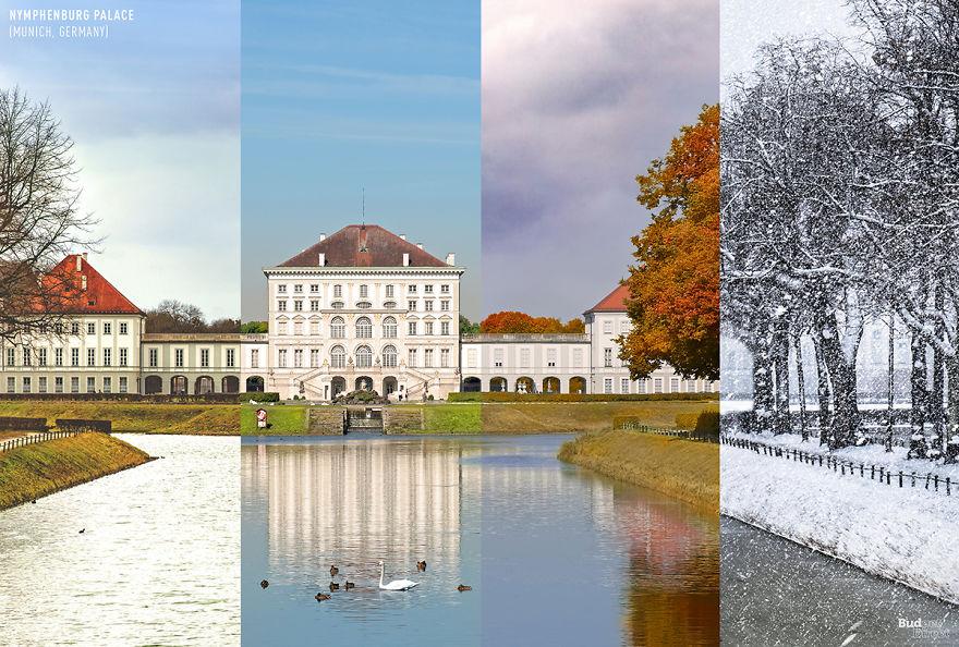 نگاهی به چهار فصل از 5 منطقه گردشگری جهان