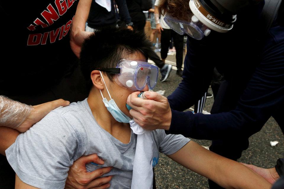 اعتراضات به قانون استرداد به چین در هنگ کنگ