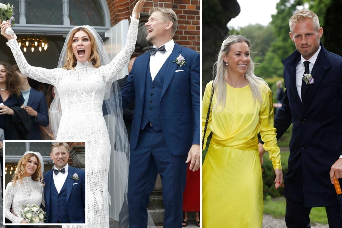 عشق دوباره برای آقای دروازه بان؛ ازدواج مجدد «پیتر اشمایکل» ۵۵ ساله در حضور فرزندان
