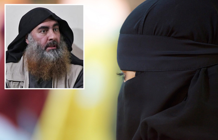 «ام سیاف»؛ زن وزیر نفت داعش و مدیر حرمسرای «ابوبکر البغدادی» که مخفیگاه او را لو داد