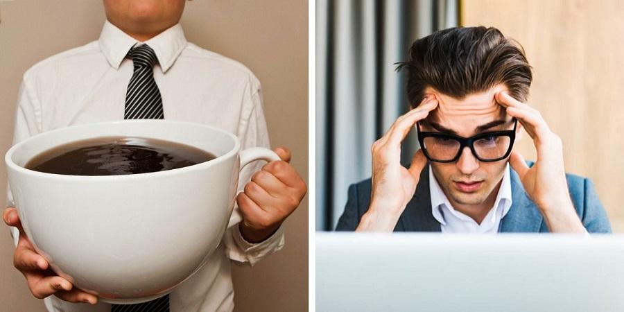 ۷ نشانه ای که می گویند در خوردن قهوه زیاده روی می کنید