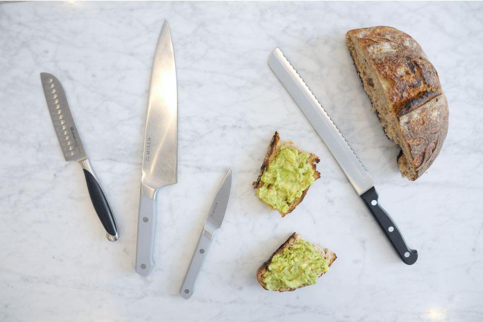 انواع مختلف چاقو