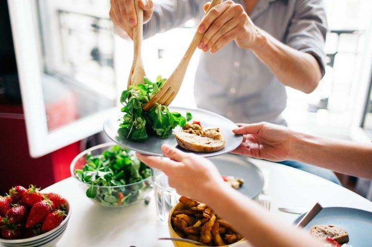 نشانه ها کمبود سبزیجات در رژیم غذایی