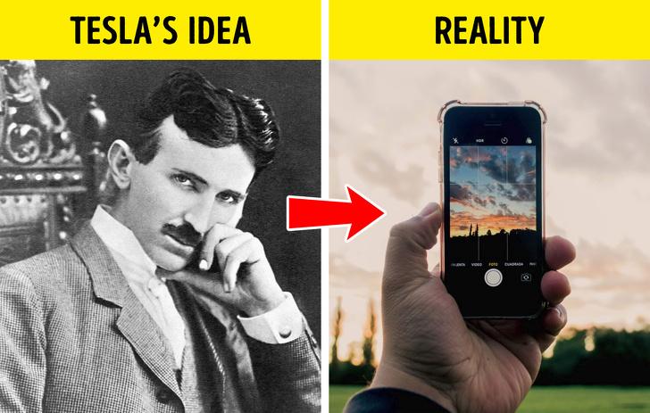 پیشگویی در مورد اختراعات مدرن