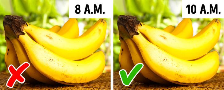 زمان مناسب برای خوردن برخی غذاها