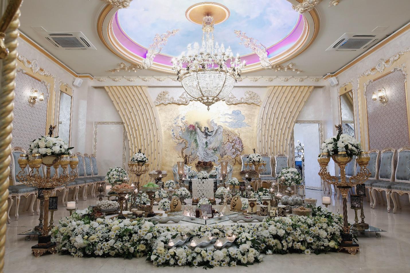 لاکچری ترین و بهترین تالار عروسی تهران