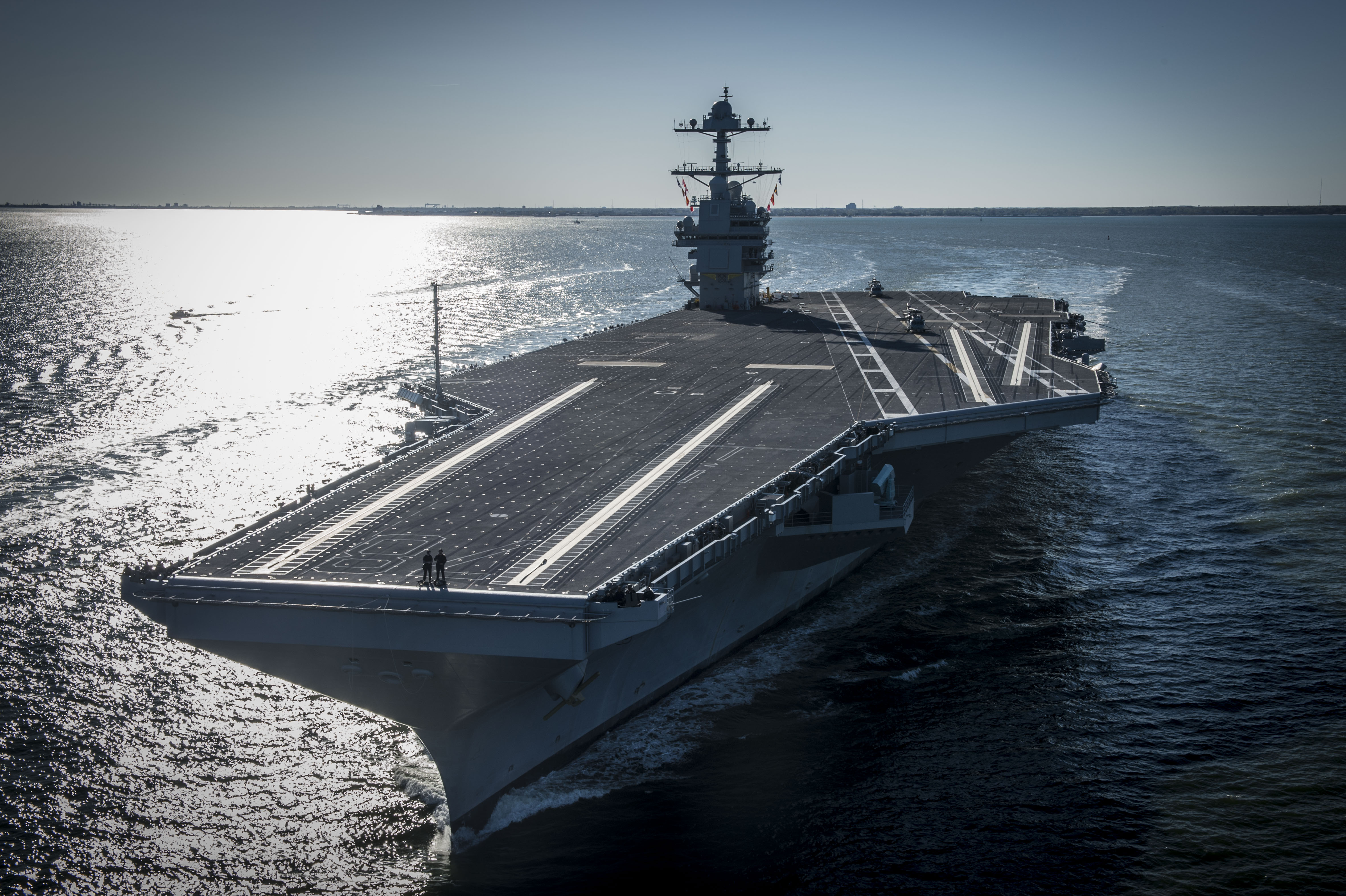 ناو هواپیمابر USS Gerald R. Ford