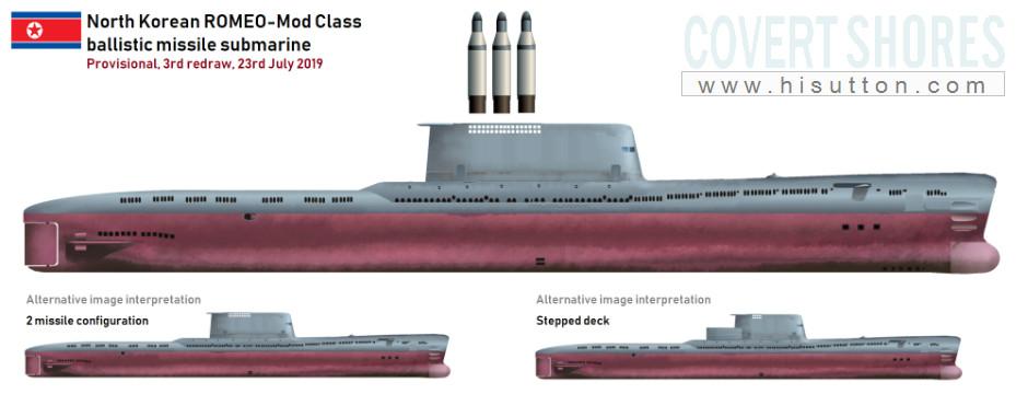 زیردریایی جدید کره شمالی؛ نسخه دستکاری شده نمونه های قدیمی خریداری شده از شوروی