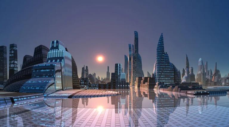 لاس وگاس عربستان؛ شهر بیابانی ۵۰۰ میلیارد دلاری با دایناسورهای رباتیک و تاکسیهای پرنده