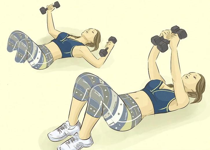 تمرینات ورزشی برای فرم دادن، سفت کردن و بالا کشیدن سینه ها