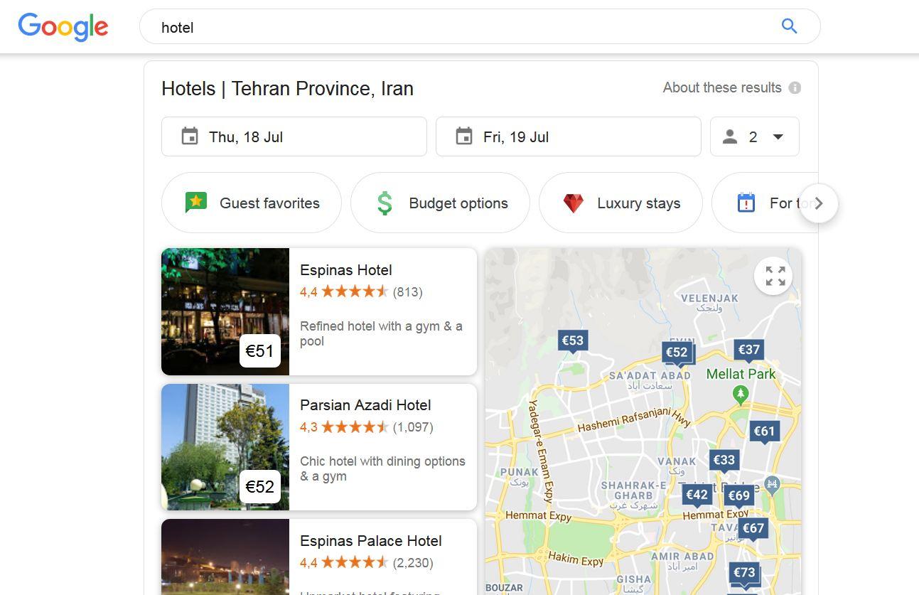سایت های معروف رزرو هتل و هاستل در شهرهای مختلف جهان