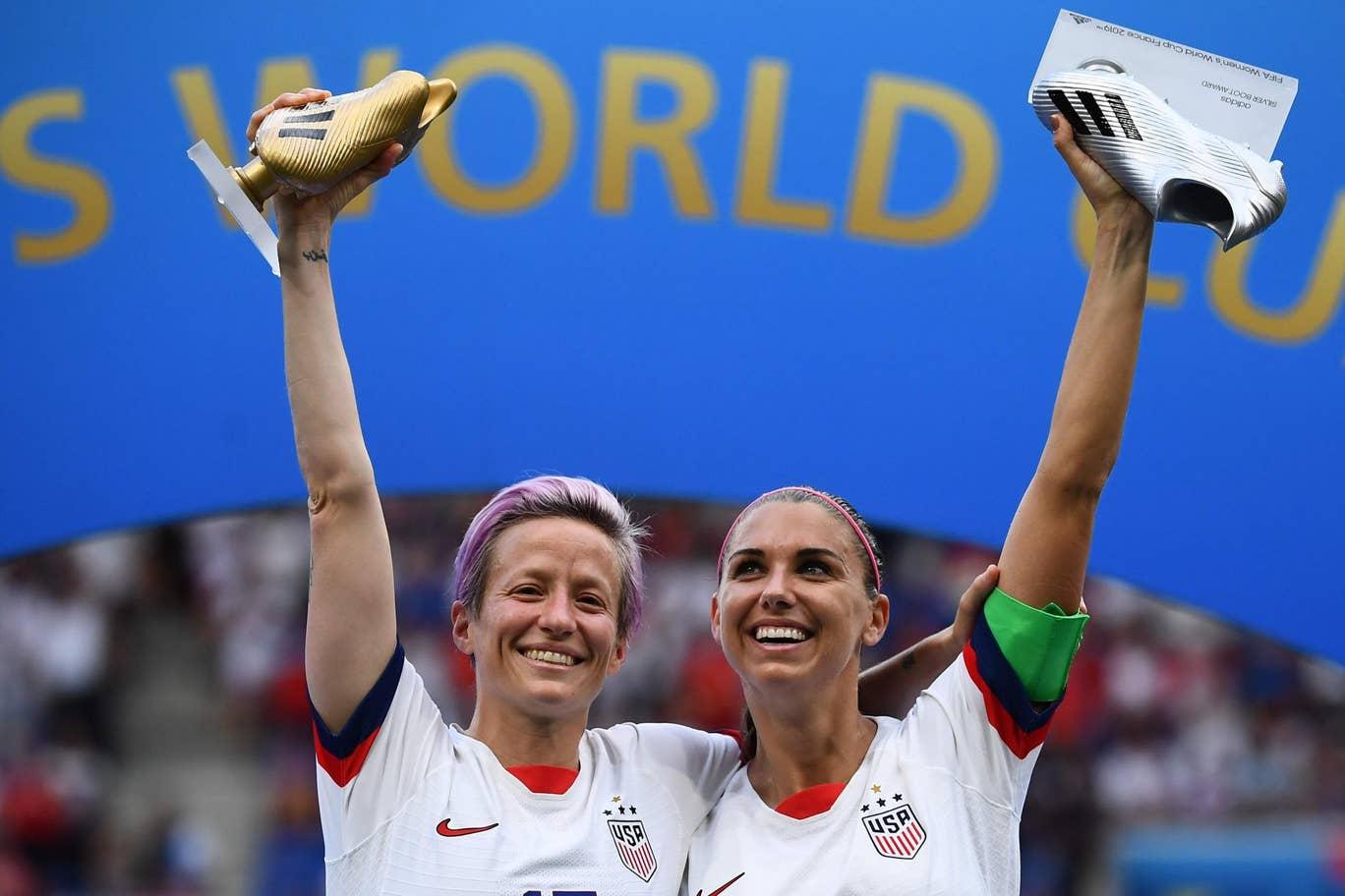 اختلاف فاحش دستمزد بین بازیکنان زن و مرد دنیای فوتبال و شکایت تیم زنان ایالات متحده