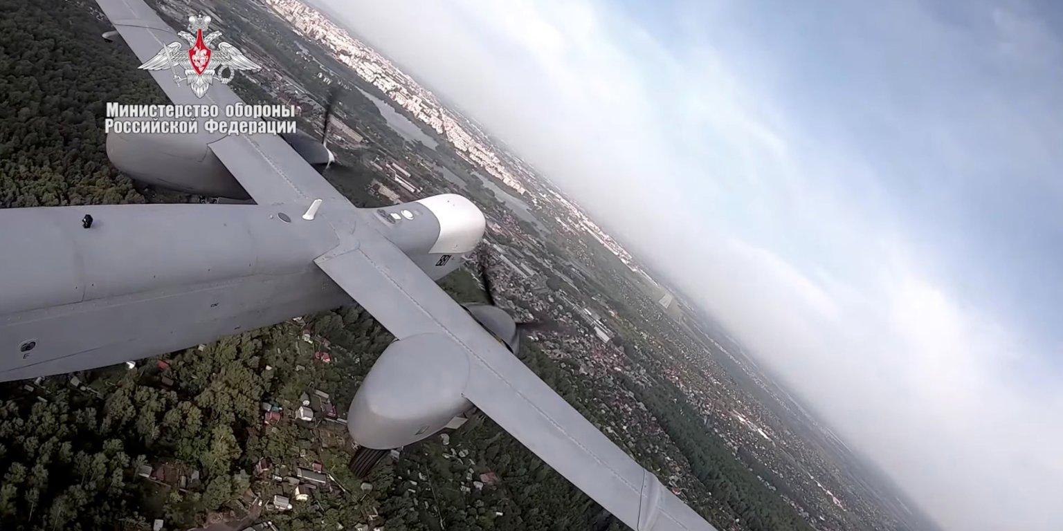 Altius-U؛ جدیدترین پهپاد دور پرواز روسیه با قابلیت جاسوسی و حمل بمبهای هوشمند