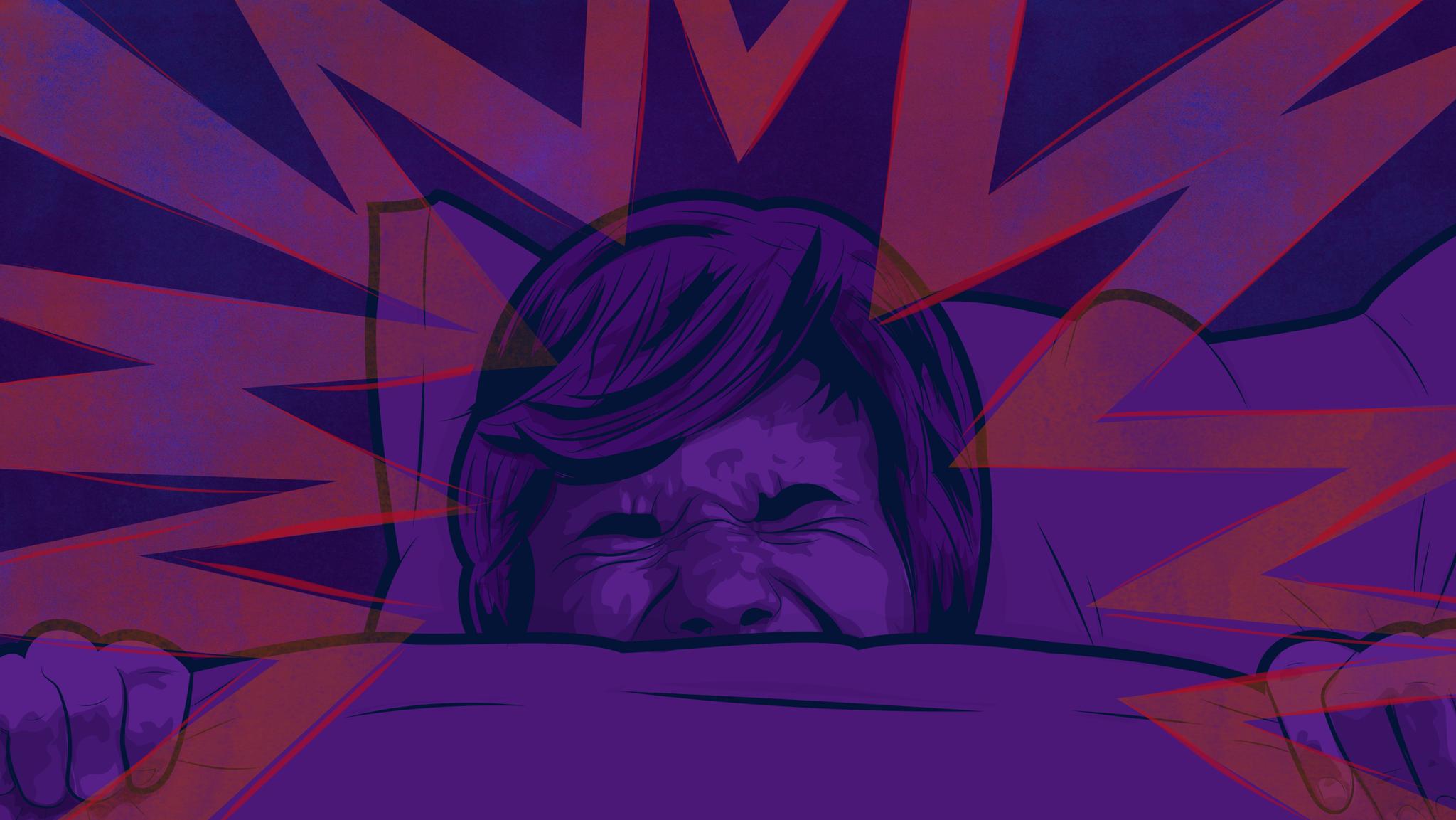 چرا برخلاف حرف زدن در خواب، جیغ زدن بعد از دیدن کابوس غیرممکن است؟