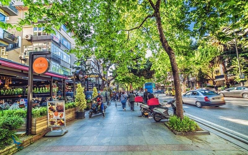 معروف ترین خیابان ها در ترکیه