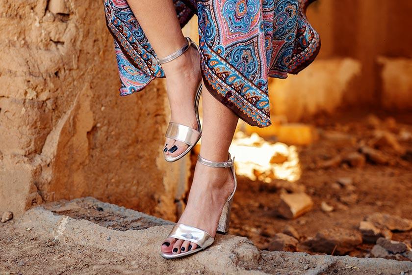 ست کردن کفش و لباس