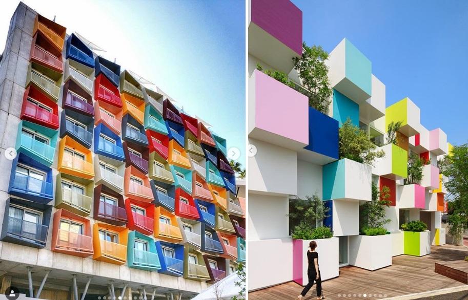 تصاویری جالب از نقش معماری در همراهی انسان با طبیعت و آرامش