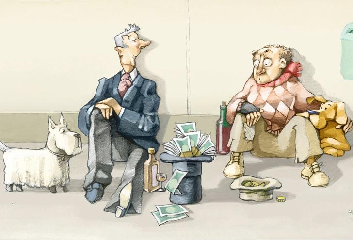 تفاوت عادت های افراد ثروتمند و فقیر