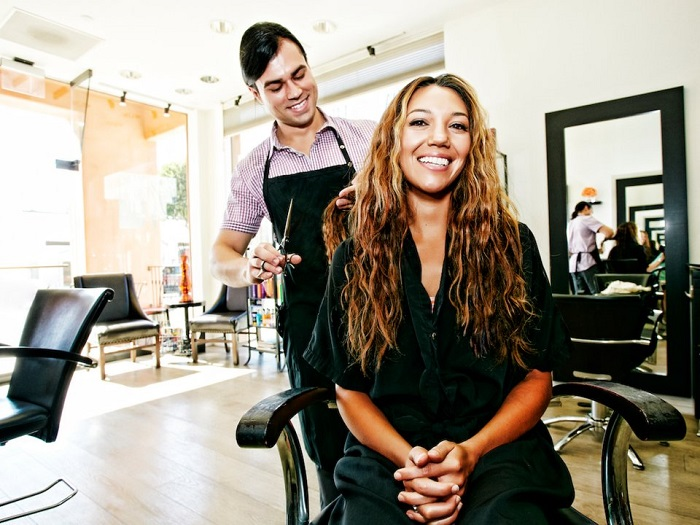 زمان کوتاه کردن موها