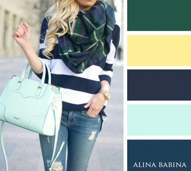 20 ترکیب رنگ جذاب برای داشتن تیپ زیبا در فصل پاییز