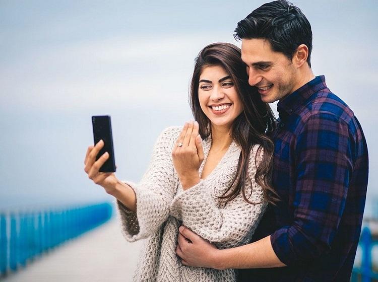 زوج ها در شبکه های اجتماعی