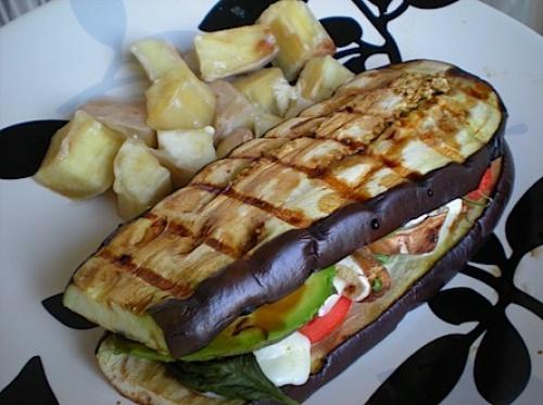 ساندویچ بدون نان